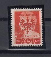G3368/ LAIBACH GERMAN OCC – MI # 19a MINT MNH CERTIFICATE – CV 165 $