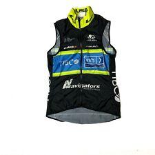 Women's 2018 Voler Team Tibco Pro Cycling Wind Vest, Black, Size XS EUC