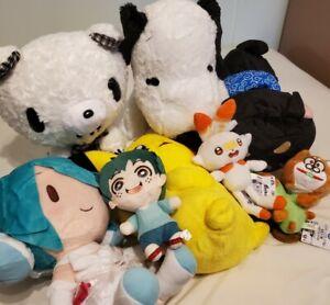 Plush Toy Lot Pokemon, Pikachu, Hatsune Miku, Osomatsu, Snoopy, Scorbunny, Chax