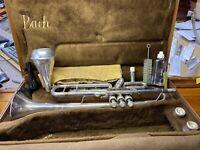 Bach Stradivarius Trumpet Model 37 Elkhart, Ind. U.S.A.