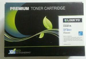 Linkyo CE401A Cyan for HP M551 Premium Toner Cartridge