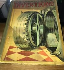 THE WONDER BOOK OF INVENTIONS Hardback 1930 Signed