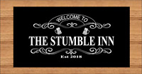 PERSONALISED BAR WORKTOP RUNNER. PUB / BAR / SHOP / HOME. FREE POSTAGE