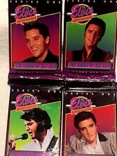 1992 Elvis Presley (The Elvis Collection) Series 1 Trading Cards 4 Pack