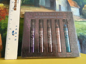 Urban Decay 24/7 Glide on Shadow Pencil Stash Set of 5 ideal for Travel