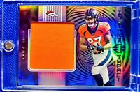 2019 Illusions NOAH FANT Rookie Jumbo Jersey Patch Holo Broncos RC