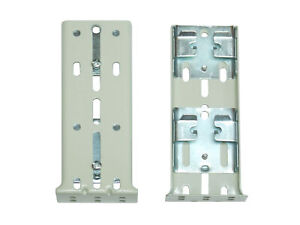 Off-White GRABER Double TRAVERSE ROD Push-In Brackets