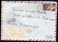 FRENCH GUIANA: (15224) ST. LAURENT postmark/cover