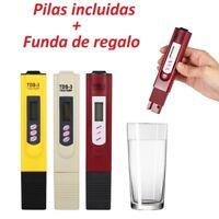 Medidor TDS o PH, control de calidad de agua y PH, Piscinas/Aquario.