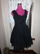 Beautiful All Saints Lelex  Dress Black Size 12 Excellent Condition