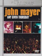 JOHN MAYER - ANY GIVEN THURSDAY- PLATINUM COLLECTION DVD NEU