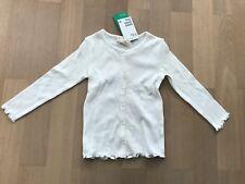 Leichte Baumwoll Jacke, Knöpfe, alt weiß, H&M 92, Neu m. Etikett