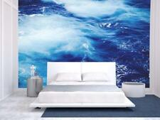 Wall26 - Blue Ocean Waves - Wall Mural Home Decor - 66x96 inches