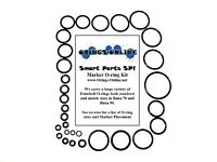Smart Parts SP1 Paintball Marker O-ring Oring Kit x 4 rebuilds / kits