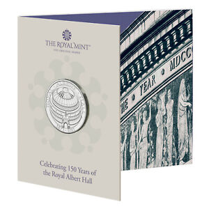 NEW** 2021 Royal Albert Hall £5 Coin Pack - Five Pound - Brilliant Uncirculated