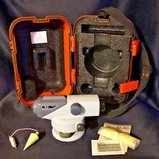 SOKKIA B-21 ENGINEER'S AUTOMATIC LEVEL W/ CASE, MANUAL & ACCESSORIES TRANSIT