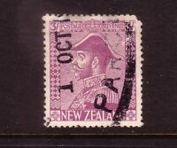NEW ZEALAND....  1926 Admirals  3/- purple used....cv $250