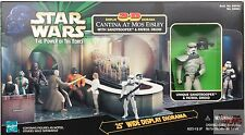 "3D DIORAMA CANTINA AT MOS EISLEY & Storm Trooper STAR WARS ANH 1998 3.75"" Figure"