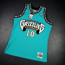 100% Authentic Mike Bibby Mitchell Ness 98 99 Grizzlies Swingman Jersey L 44