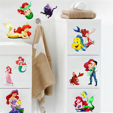 The Little Mermaid Princess Ariel Wall Decal Stickers Mural Kids Nursery Decor