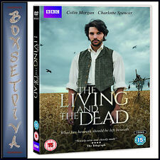 THE LIVING AND THE DEAD -  Colin Morgan &, Charlotte Spencer *BRAND NEW DVD**