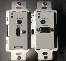 Extron HCT 102 D 60-1742-13- Wall plate transmitter - VGA HDMI auto switch