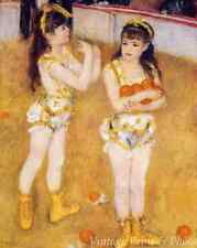 Two Little Circus Girls by Auguste Renoir - Art Perform Juggle  8x10 Print 1052