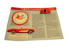 1957 Corvette Collectors Patch & Miniature Car