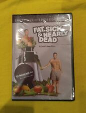 Fat, Sick And Nearly Dead DVD Reboot Diet Juicing NEW Sealed Joe Cross