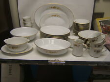 "Noritake ""Ninon"" 6609 Service for 8 w/ Serving Pieces 49 piece lot Exc"
