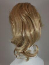 Blonde Ondulées Postiche Queue de Cheval W/Cordon Concours Chignon