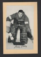 1944-63 Beehive Group II Detroit Red Wings Photos #188 Harry Lumley