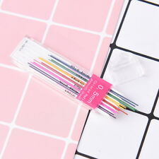 1box 0.5mm Colored Mechanical Pencil Refill Lead Erasable Student Stationary  X