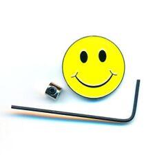 Smiley Emoticon Emoji Metall Button Badge Edel Brosche Pin Anstecker 0942+