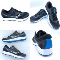 Saucony Cohesion 12 Size US 9.5 M Men's Running Shoes Blue Black S20471-5 New