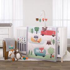 Little Love: Retro Happy Camper 6pc. (W/Mobile) Crib Bedding by NoJo