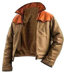 Yellowstone Kevin Costner Beige  Cotton Jacket-John Dutton Cowboy Men's Jacket