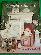 ANGELIC CHARMS BY DIANE RICHARDS 1994 SCHEEWE TOLE PAINT BOOK