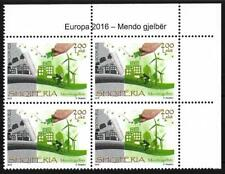 "New ListingAlbania "" Europe 2016 - Think green "" - a value of four Mnh"