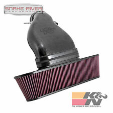 K&N CARBON FIBER COLD AIR INTAKE SYSTEM FOR 09-13 CHEVY CORVETTE ZR1 6.2L
