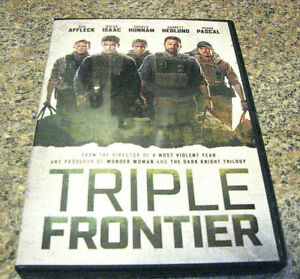 TRIPLE FRONTIER (DVD) EXCELLENT ACTION MOVIE WITH LOTS OF GREAT ACTORS~