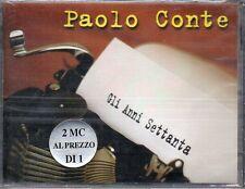 PAOLO CONTE - GLI ANNI SETTANTA - 2 MC (NUOVA SIGILLATA)