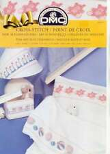 Cross Stitch Leaflet Pink and Blue Tenderness