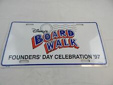 Disney Board Walk Founder's Day 97 License Plate