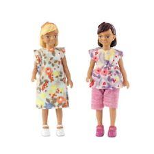 Lundby 60.8064 - Smaland Familie Kinder two Girls - zwei Mädchen - 1:18