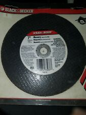 "Black & Decker Professional 73-237 Masonry Tile Cutting Abrasive 7"" Saw Blades"