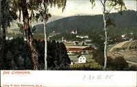 Bad Liebenstein Thüringen Color Postkarte 1905 Gesamtansicht vom Wald gesehen