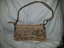 Authentic Small XOXO Purse Tan & Beige with studded Single Strap design