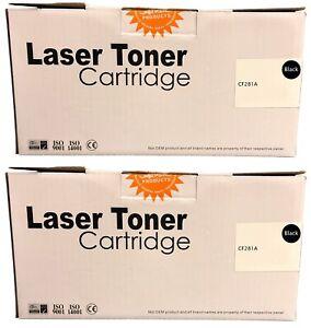 Compatible 81A Black Twin Toner Cartridges CF281A for HP M606