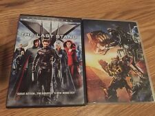 LOT 2 movies X-Men:The Last Stand (DVD Full & Transformers revenge of the fallen